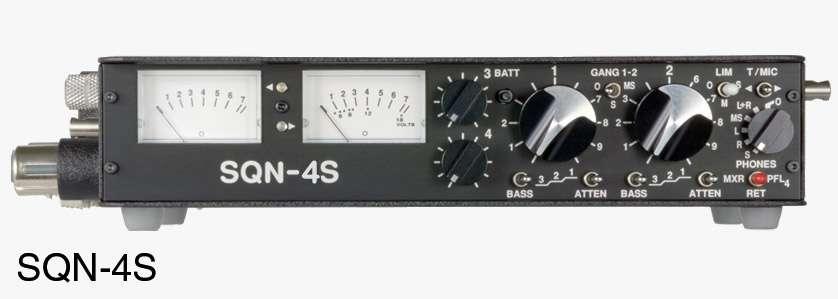 SQN Portable Mixers | dB Audio Visual